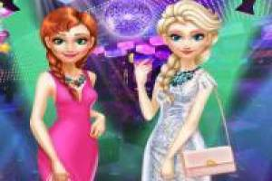 Elsa and Anna: They Party