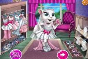 Dress up Kitty for her wedding