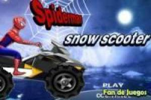 Spiderman quad en la nieve