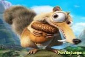 Ice age, squirrel