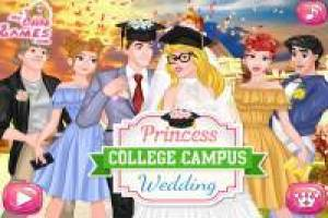 Cinderella's wedding on campus