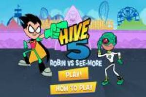 Teen Titans Go!: Robin VS See-More On Line