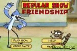 Regular show friendship