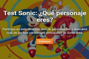 Sonic Test: Which main character are you?