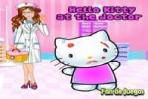 Hello kitty visita al doctor