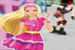 Barbie: style de patinage