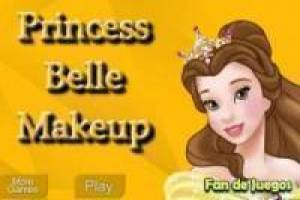 Free Make up the princess disney: Belle Game