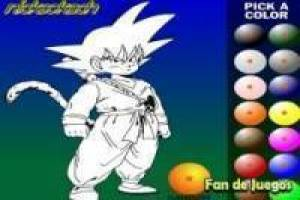 Pintar a Goku: Dragon Ball