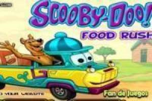 Scooby doo distributes food