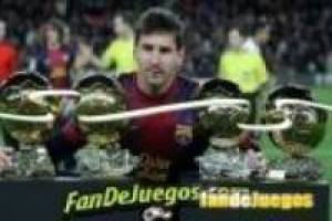 Lionel messi fourth ball: fandejuegos puzzles