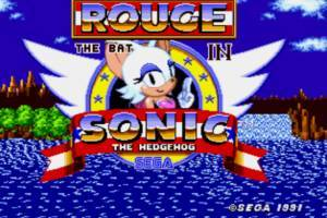 Rouge in Sonic