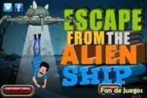 Escape the alien ship