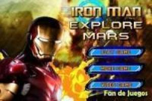 Iron man explores mars