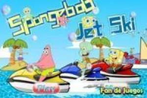 SpongeBob Racing Jet-Ski