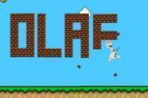 Olaf in the world of Mario Bros