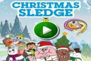 Christmas Sledge by Cartoon Network