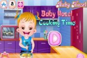 Cooking Time with Baby Hazel