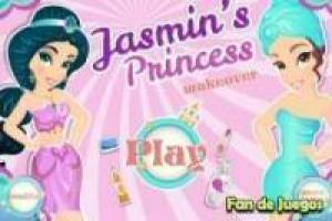 Free Princess Jasmine Makeover Game