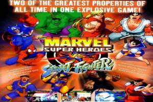 Marvel Super Heroes gegen Street Fighter (970625 USA)