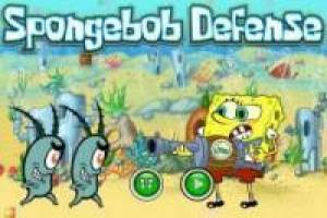 SpongeBob defende