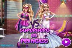 Dress up our girl as a superhero and princess