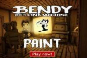 Paint Bendy, Boris and Alice Angel