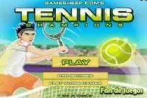Free Tennis champions Game
