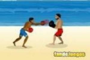 Fights on the beach