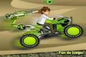 Ben 10 vs zombies motorcycle