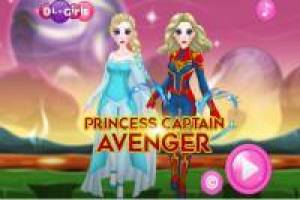 Princess Elsa: Disguises herself as the Avengers