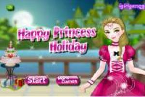 Dress up the magic forest princess