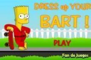 Free Bart Simpson Dress Up Game