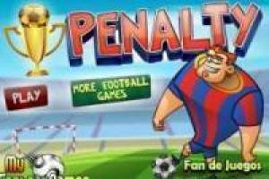 Free Penalty shots Game