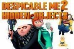 Despicable Me 2 encontrar objetos escondidos