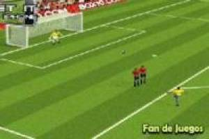 Soccer, perfect free kick