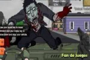 Juego Escapa atropellando zombies Gratis