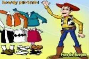 Toy Story: vestir a Woody