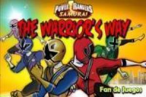 Power rangers : the warrior`s way