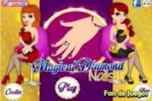 Nagel Magie Diamanten
