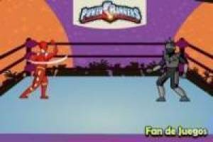 Power Rangers vs robô