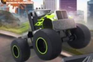 Free Monster truck ultimate playground Game