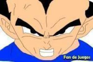 échappe Dragon Ball Z Vegeta