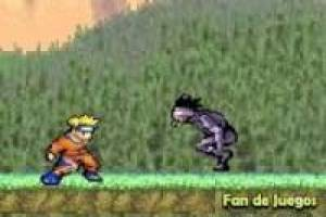 Naruto on the battlefield