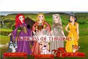 Vista as princesas como Game of Thrones