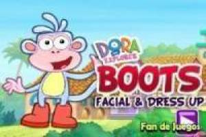 Dora Make up støvler