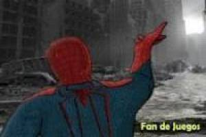 Spiderman verdedigt new york