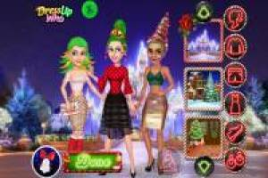 Christmas hairstyles for princesses
