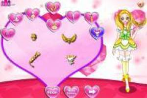 Dressing the lovely Pretty Cure 3