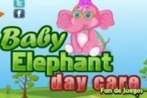Free Caring baby elephants Game