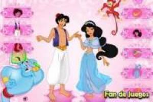 Aladdin and Jasmine dress up